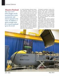 Marine Technology Magazine, page 24,  May 2016