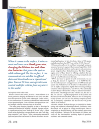 Marine Technology Magazine, page 26,  May 2016