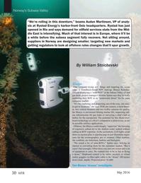 Marine Technology Magazine, page 30,  May 2016