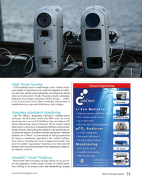 Marine Technology Magazine, page 31,  May 2016