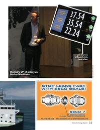 Marine Technology Magazine, page 33,  May 2016