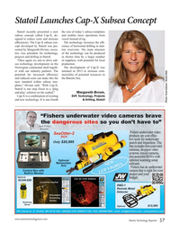 Marine Technology Magazine, page 37,  May 2016