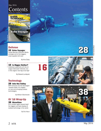 Marine Technology Magazine, page 2,  May 2016