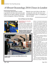 Marine Technology Magazine, page 38,  May 2016