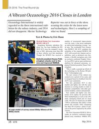 Marine Technology Magazine, page 38,  May 2016