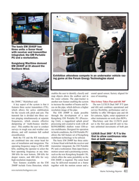 Marine Technology Magazine, page 41,  May 2016