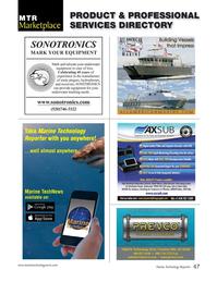 Marine Technology Magazine, page 47,  May 2016