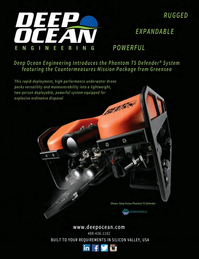 Marine Technology Magazine, page 4th Cover,  May 2016