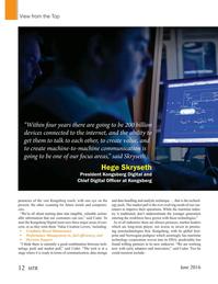 Marine Technology Magazine, page 12,  Jun 2016