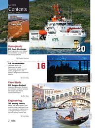 Marine Technology Magazine, page 2,  Jun 2016