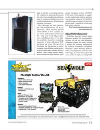 Marine Technology Magazine, page 15,  Jul 2016