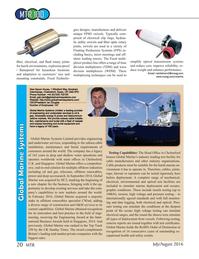 Marine Technology Magazine, page 20,  Jul 2016