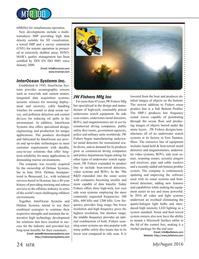 Marine Technology Magazine, page 24,  Jul 2016