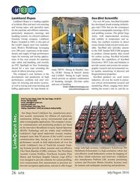 Marine Technology Magazine, page 26,  Jul 2016