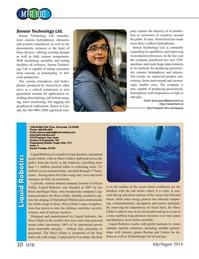 Marine Technology Magazine, page 30,  Jul 2016