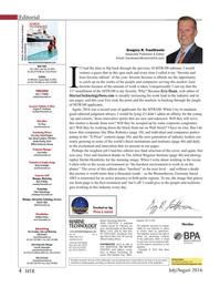 Marine Technology Magazine, page 4,  Jul 2016
