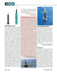 Marine Technology Magazine, page 58,  Jul 2016