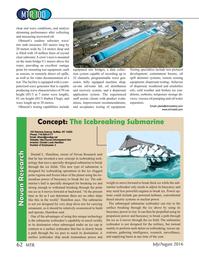 Marine Technology Magazine, page 62,  Jul 2016