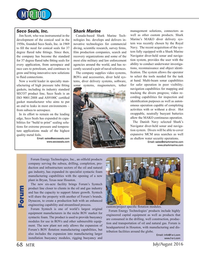 Marine Technology Magazine, page 68,  Jul 2016