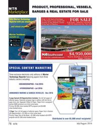 Marine Technology Magazine, page 78,  Jul 2016