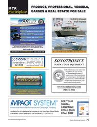 Marine Technology Magazine, page 79,  Jul 2016