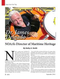 Marine Technology Magazine, page 8,  Sep 2016