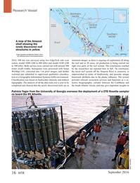 Marine Technology Magazine, page 16,  Sep 2016