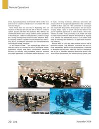 Marine Technology Magazine, page 20,  Sep 2016