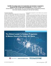 Marine Technology Magazine, page 27,  Sep 2016