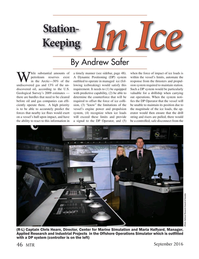 Marine Technology Magazine, page 46,  Sep 2016