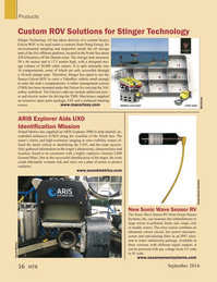 Marine Technology Magazine, page 56,  Sep 2016