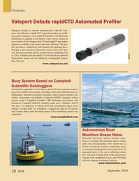 Marine Technology Magazine, page 58,  Sep 2016