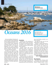 Marine Technology Magazine, page 60,  Sep 2016