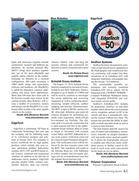 Marine Technology Magazine, page 61,  Sep 2016