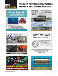 Marine Technology Magazine, page 63,  Sep 2016