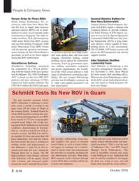 Marine Technology Magazine, page 8,  Oct 2016