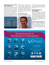 Marine Technology Magazine, page 11,  Oct 2016