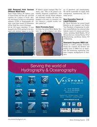 Marine Technology Magazine, page 11,  Oct 2016