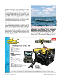 Marine Technology Magazine, page 13,  Oct 2016