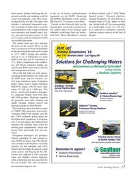 Marine Technology Magazine, page 17,  Oct 2016