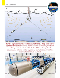 Marine Technology Magazine, page 26,  Oct 2016
