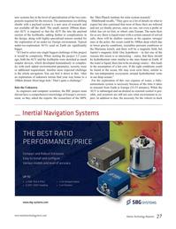 Marine Technology Magazine, page 27,  Oct 2016
