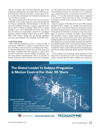Marine Technology Magazine, page 29,  Oct 2016