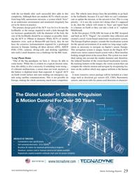 Marine Technology Magazine, page 29,  Oct 2016