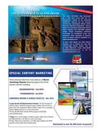 Marine Technology Magazine, page 33,  Oct 2016
