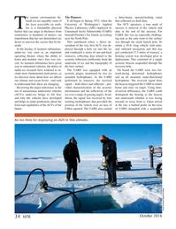 Marine Technology Magazine, page 34,  Oct 2016