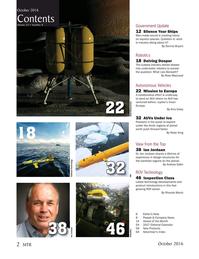 Marine Technology Magazine, page 2,  Oct 2016