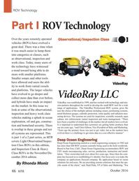Marine Technology Magazine, page 46,  Oct 2016