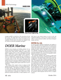 Marine Technology Magazine, page 48,  Oct 2016