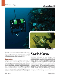 Marine Technology Magazine, page 52,  Oct 2016